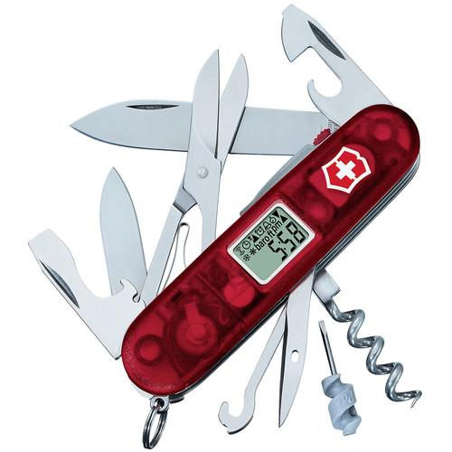 Victorinox Traveller Lite Pocket Knife (Translucent Ruby) 53878
