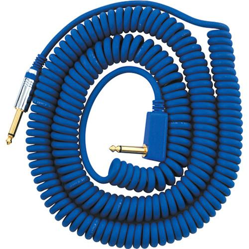 VOX VCC Vintage Coiled Cable (29.5', Blue) VCC090BL