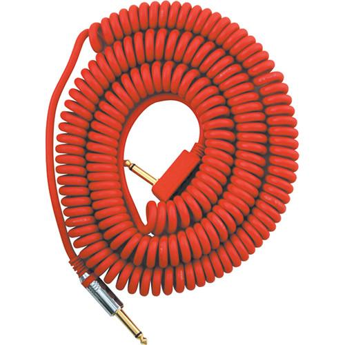 VOX VCC Vintage Coiled Cable (29.5', Red) VCC090RD