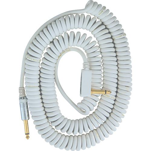 VOX VCC Vintage Coiled Cable (29.5', White) VCC090WH