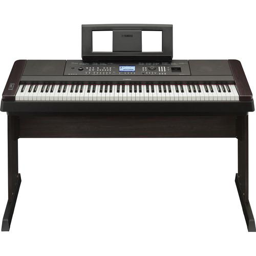 Yamaha DGX-650 Portable Grand Digital Piano Stage Bundle (Black)