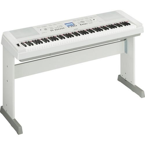 Yamaha DGX-650 Portable Grand Digital Piano Stage Bundle (White)