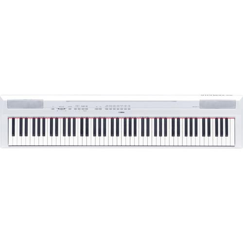 Yamaha P-115 Digital Piano Essentials Bundle (White)