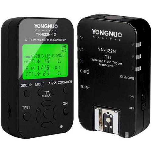 Yongnuo YN-622N i-TTL Wireless Flash Transceiver YN-622N KIT