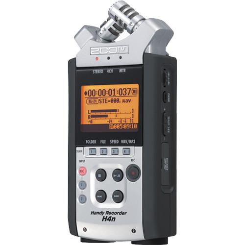 Zoom H4n 4-Channel Handy Recorder On-Camera DSLR Audio Kit