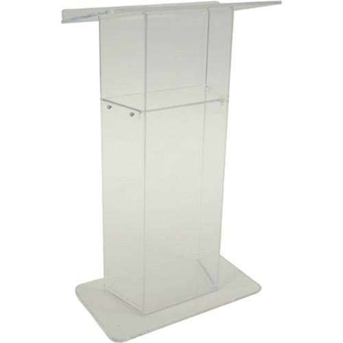 AmpliVox Sound Systems Frosted Acrylic Lectern SN305010