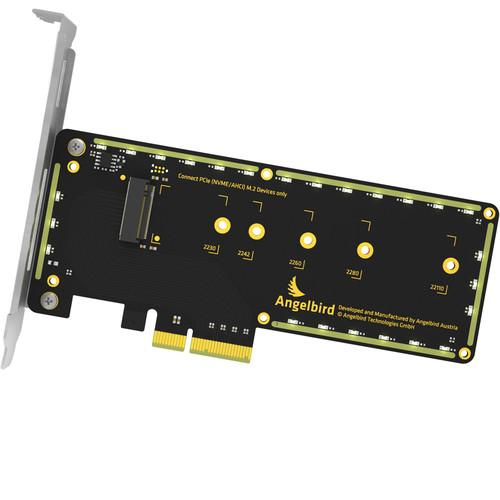 Angelbird Wings PX1 PCIe x4 M.2 Adapter WPX1-FWKF