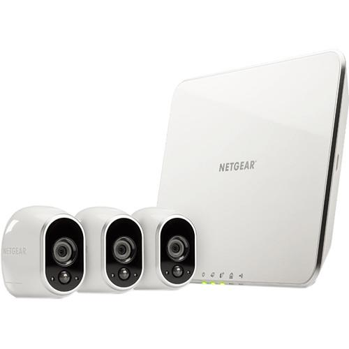 arlo Wire-Free Security System with 3 720p VMS3330-100NAS