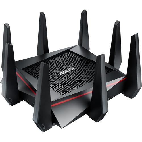 ASUS RT-AC5300 Tri-Band Wireless AC5300 Gigabit Router with 1TB