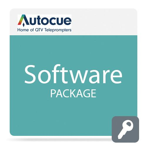 Autocue/QTV QMaster Teleprompting Software Package SW-QMASTERSDI