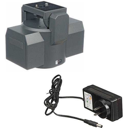 Bescor MP-101 Motorized Pan Head and AC Adapter Kit MP-1AC