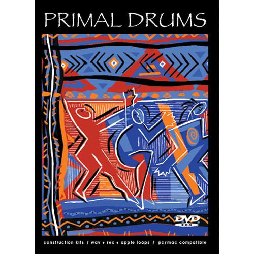 Big Fish Audio  Primal Drums DVD PRDR1-ORWX