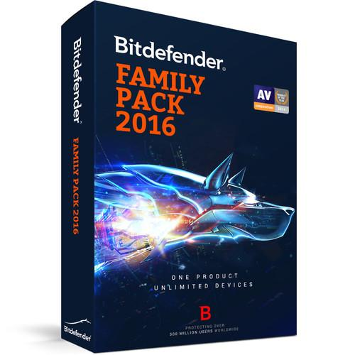 Bitdefender Family Pack 2016 (1 Year, Download) UL11151000-EN