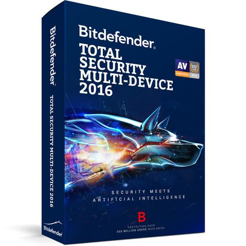 Bitdefender Total Security Multi-Device 2016 BL11911003-EN