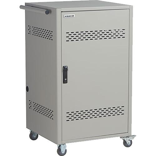Black Box 36-Device Steel Top Cart with 4-Bank Timer LCC36H-AT