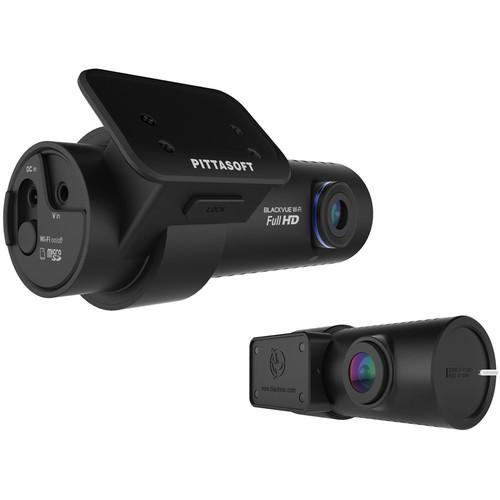 Black Vue 1080p Front and 720p Rear Dash Cameras with Battery