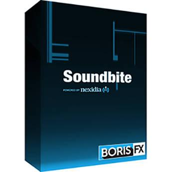 Boris FX Boris Soundbite for Mac - European Spanish BSBES200
