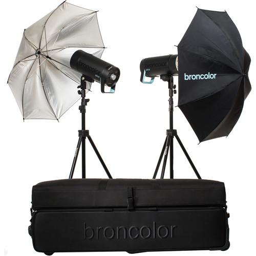 Broncolor Siros 400 Basic 2-Light Wi-Fi/RFS 2.1 Kit B-31.661.07