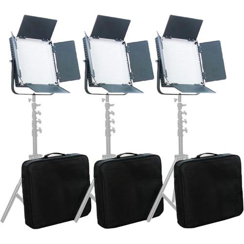 CAME-TV High CRI 900 Bi-Color LED 3 Light Kit L900S3