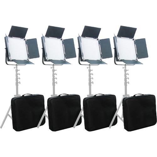 CAME-TV High CRI 900 Bi-Color LED 4 Light Kit L900S4