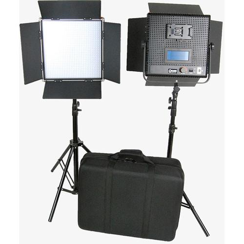 CAME-TV High CRI Digital 1024 Daylight LED 2 Light Kit