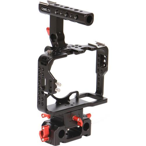 CAME-TV Protective Cage for Sony a7 II, a7R II, and Sony H-A7R2