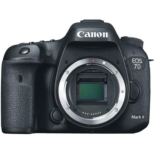 Canon EOS 7D Mark II DSLR Camera Body with 6-Track Field