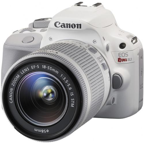 Canon EOS Rebel SL1 DSLR Camera with 18-55mm and 55-250mm