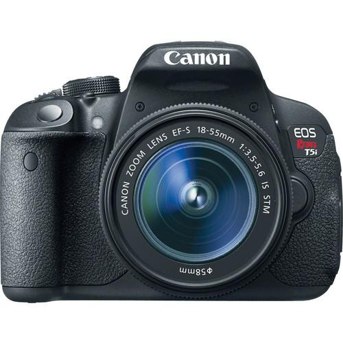 Canon EOS Rebel T5i DSLR Camera with 18-55mm and 55-250mm