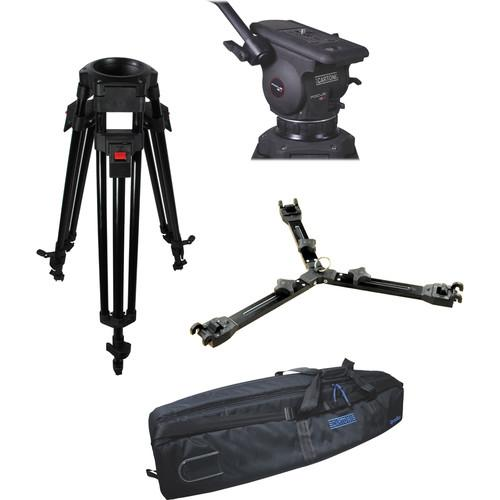 Cartoni Focus 12 Fluid Head with A627 Tripod Legs & KF12-2UM