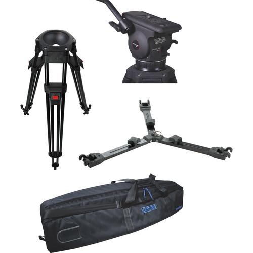 Cartoni Focus 12 Fluid Head with L501 Tripod Legs & KF12-1AM