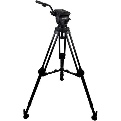 Cartoni Focus 12 Fluid Head with L507 Tripod Legs & KF12-CXM