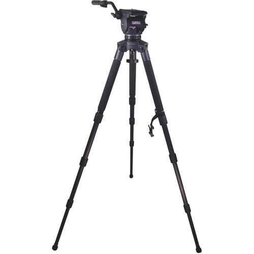 Cartoni Focus 12 Fluid Head with Stabilo Tripod Legs KF12-3CS