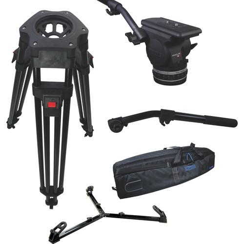 Cartoni Focus 18 Fluid Head with H601 Tripod Legs, KF18-1HG