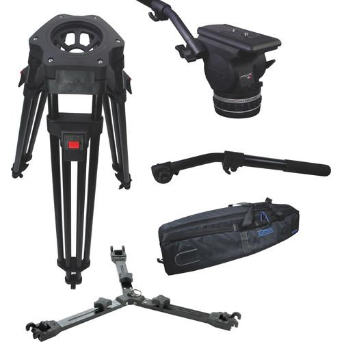 Cartoni Focus 18 Fluid Head with H601 Tripod Legs, KF18-1HM