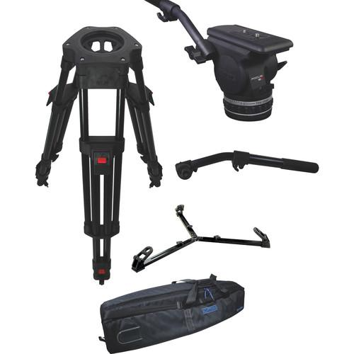 Cartoni Focus 18 Fluid Head with H602 Tripod Legs, KF18-2HG