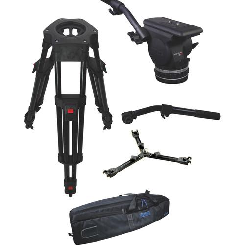 Cartoni Focus 18 Fluid Head with H602 Tripod Legs, Mid KF18-2HM