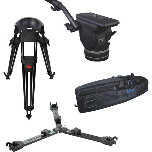Cartoni Focus 18 Fluid Head with L501 Tripod Legs & KF18-1AM
