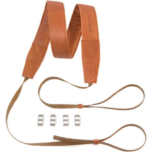 compagnon Bold Camera Strap (40mm Wide, Light Brown) 513