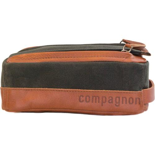 compagnon The Toolbag (Dark Green/Light Brown) 508