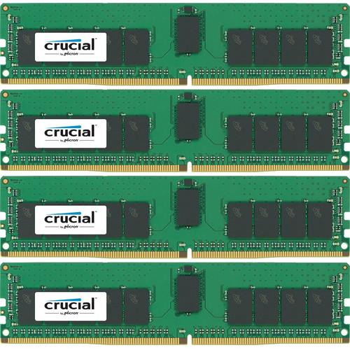 Crucial 64GB DDR4 2400 MT/s RDIMM RAM Kit CT4K16G4RFS424A
