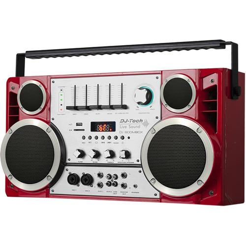 DJ-Tech DJ Boombox Wireless Portable Stereo DJBOOMBOX