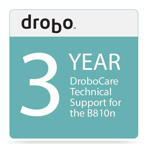 Drobo Three-Year DroboCare Technical Support DR-B810N-5D11