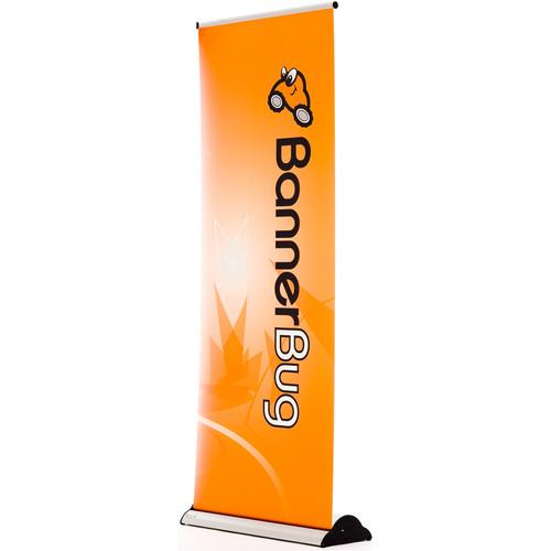 Drytac Single Banner Baby Bug Roll-Up Display DU1058