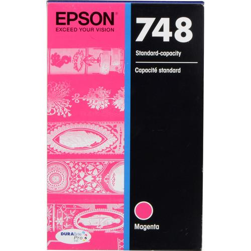 Epson 748 Standard-Capacity Magenta Ink Cartridge T748320