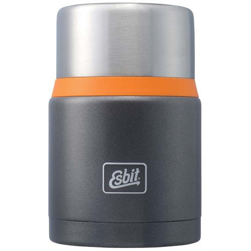 Esbit 25 oz Food Jug (Dark Gray/Orange) E-FJ750SP-GO
