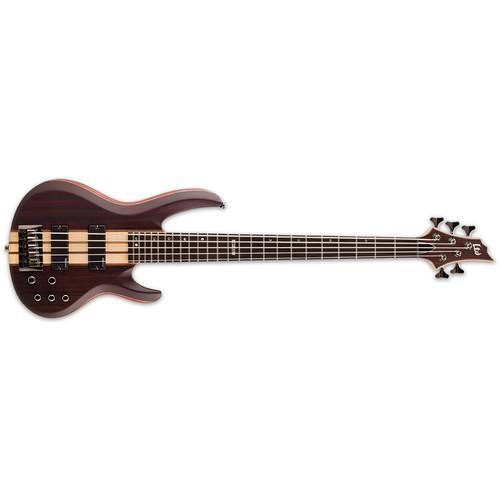 ESP LTD B-5E 5-String Electric Bass (Natural Satin) LB5ENS