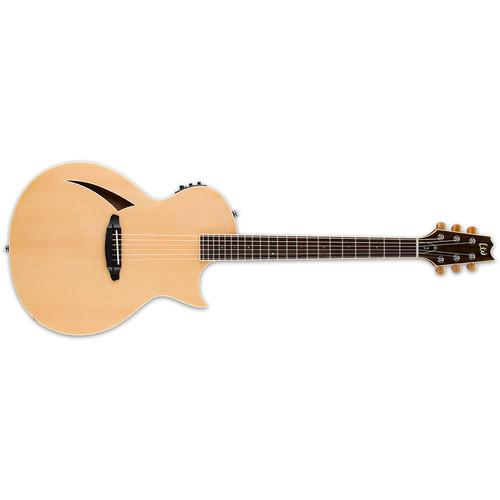 ESP LTD Thinline Series TL-6 Acoustic/Electric Guitar LTL6NAT