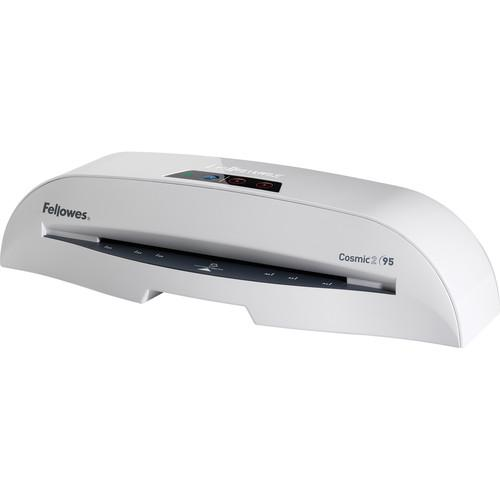 Fellowes Cosmic 2 95 Laminator with Pouch Starter Kit 5725601