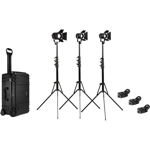 Fiilex K313 3-Light Interview Kit with Case FLXK313